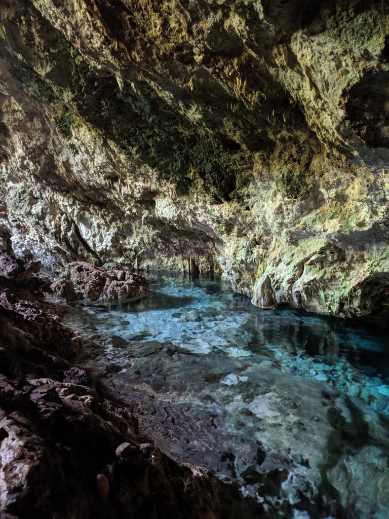 Kuza Cave in Jambiani, Zanzibar, Tanzania