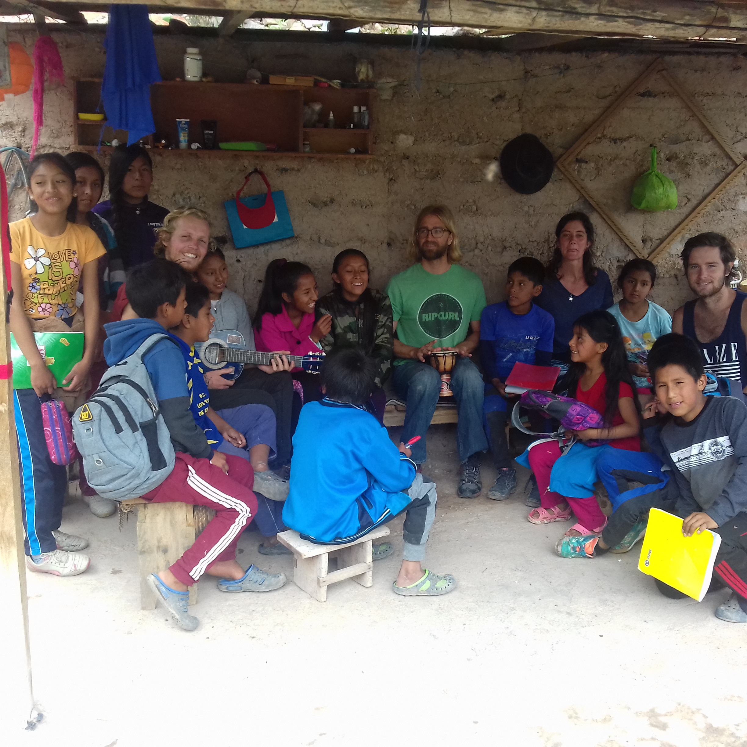 Volunteering in Ayacucho