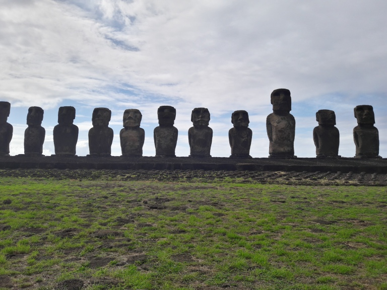 Easter Island, Moais